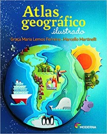 Atlas Geografico Ilustrado - 4ª Edicao - Moderna