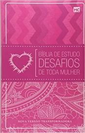 Bíblia de Estudo Desafios de Toda Mulher 2ª Edição Flexível