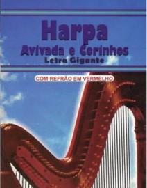 Harpa Crista Pequena Popular CPP Refrão Vermelho