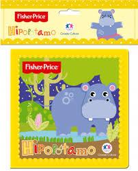 Fisher Price - Hipopótamo - Livro de Banho