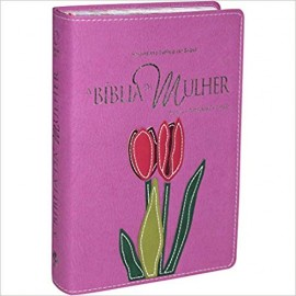 Bíblia da Mulher RA - Media - Capa Luxo - Legno Orquidea