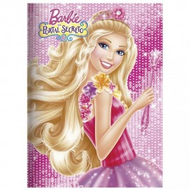 Caderno Brochura C. Forte 60 Folhas Barbie Foroni