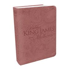 Bíblia King James Para Mulheres Fiel 1611 - Rosê Gold