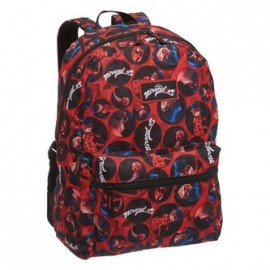 Mochila Escolar ladyBug Miraculous Action GD Pacific