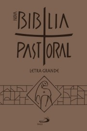 Nova Bíblia Pastoral Letra Grande Ziper Marrom