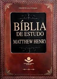 Biblia de Estudo Matthew Henry - RC - Capa Luxo - Preta SBB