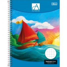 Caderno Quadriculado 1X1 Universitário CD 96 FLS Tilibra