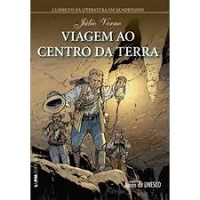 Viagem ao Centro da Terra - Clássicos Literatura Quadrinhos