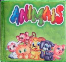 Animais - Livro de Pano