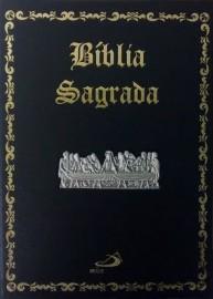 Bíblia Edição Pastoral Santa Ceia Luxo