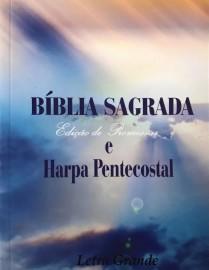 Bíblia RC Econômica - C/ Harpa - L Grande - Brochura - King Cross