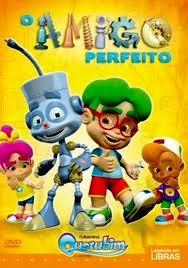 DVD O Amigo Perfeito Turminha Querubim