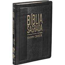 Bíblia RC - Slim com Harpa Crista - CPAD
