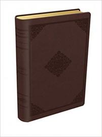 Bíblia do Pescador - NVI - Luxo Marrom