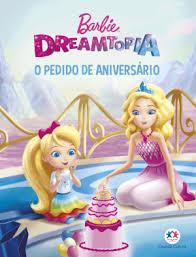 Mini Livro - Barbie - O Pedido de Aniversario