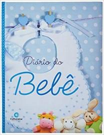 Diário do Bebê - Azul - Culturama