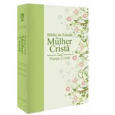 Bíblia de Estudo da Mulher Crista Media Capa Verde