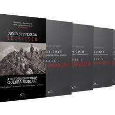 A Historia da Primeira Guerra Mundial - Box 4 Volumes
