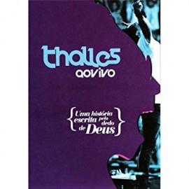 DVD Thalles - Uma Historia Escrita Pelo Dedo de Deus - 2013