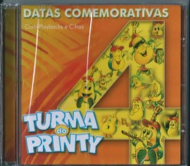CD Turma do Printy - Vol 4 - Datas Comemorativas PB Incluso