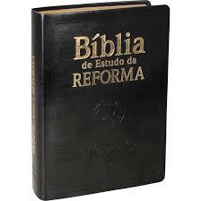 Bíblia de Estudo da Reforma - Luxo - Preta