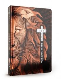 Bíblia Jesus Freak - NVI - Capa Dura - Leão Bronze