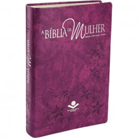 Bíblia da Mulher RA - Grande - Capa Purpura Nobre - Luxo