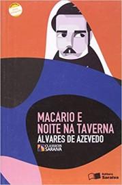 Macário E Noite Na Taverna  - Coleção Clássicos Saraiva - 1ª Edição