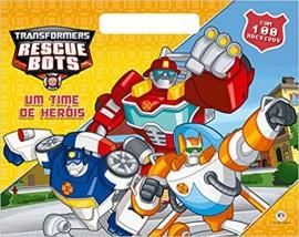 Transformers - Um Time de Herois - Com Adesivos