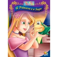 Quebra-cabeça(20x27): Princesa e o Sapo