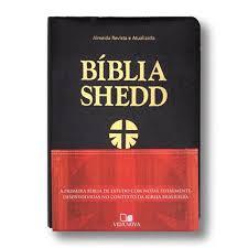 Bíblia de Estudo Shedd - Capa Luxo Preta