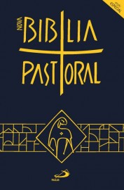 Nova Bíblia Pastoral Edição Especial Media Capa Cristal