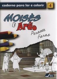 Livro P/ Pintar Moisés e Arão - Caderno Para Ler e Colorir 4
