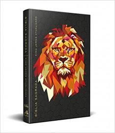 Bíblia BKJ Atualizada Capa Dura - Leão Preta