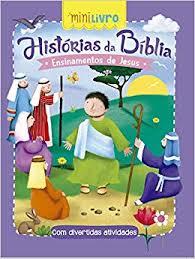 Mini Livro - Historias da Bíblia - Ensinamentos de Jesus