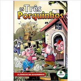 Classicos em Quadrinhos! Os Tres Porquinhos