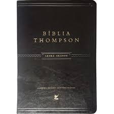 Bíblia de Estudo Thompson - Capa Luxo - Letra Grande Preta