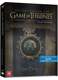 Blu-Ray Game Of Thrones - 3ª Temporada Steelbook