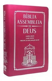 Bíblia Assembleia de Deus - Pink