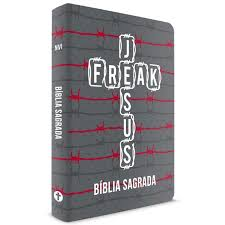 Bíblia Jesus Freak - NVI - Capa Dura - Arame