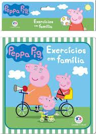 Peppa Pig - Exercícios em família- Livro de Banho