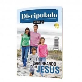 Revista Discipulado Volume 1 - Aluno Caminhando com Jesus