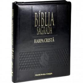 Bíblia RC - L Extragigante - PJV - HC - Auxilio - Preta Zíper