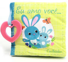 Eu Amo Voce Coelhinho - Livro de Pano