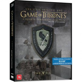 Blu-Ray Game Of Thrones - 4ª Temporada Steelbook