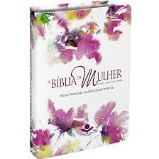 Biblia da Mulher NTLH - Media - Capa Luxo Aquarela