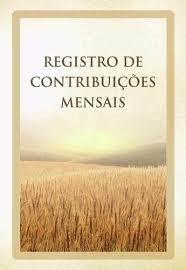 Livro de Registro de Contribuições Mensais