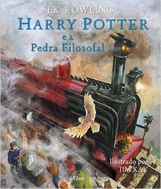 Harry Potter 1 - Pedra Filosofal - Ilustrado