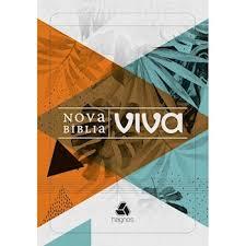 Nova Bíblia Viva Letra Grande Folhagem Brochura 16x23