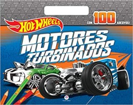 Hot Wheels - Motores Turbinados - Com Adesivos